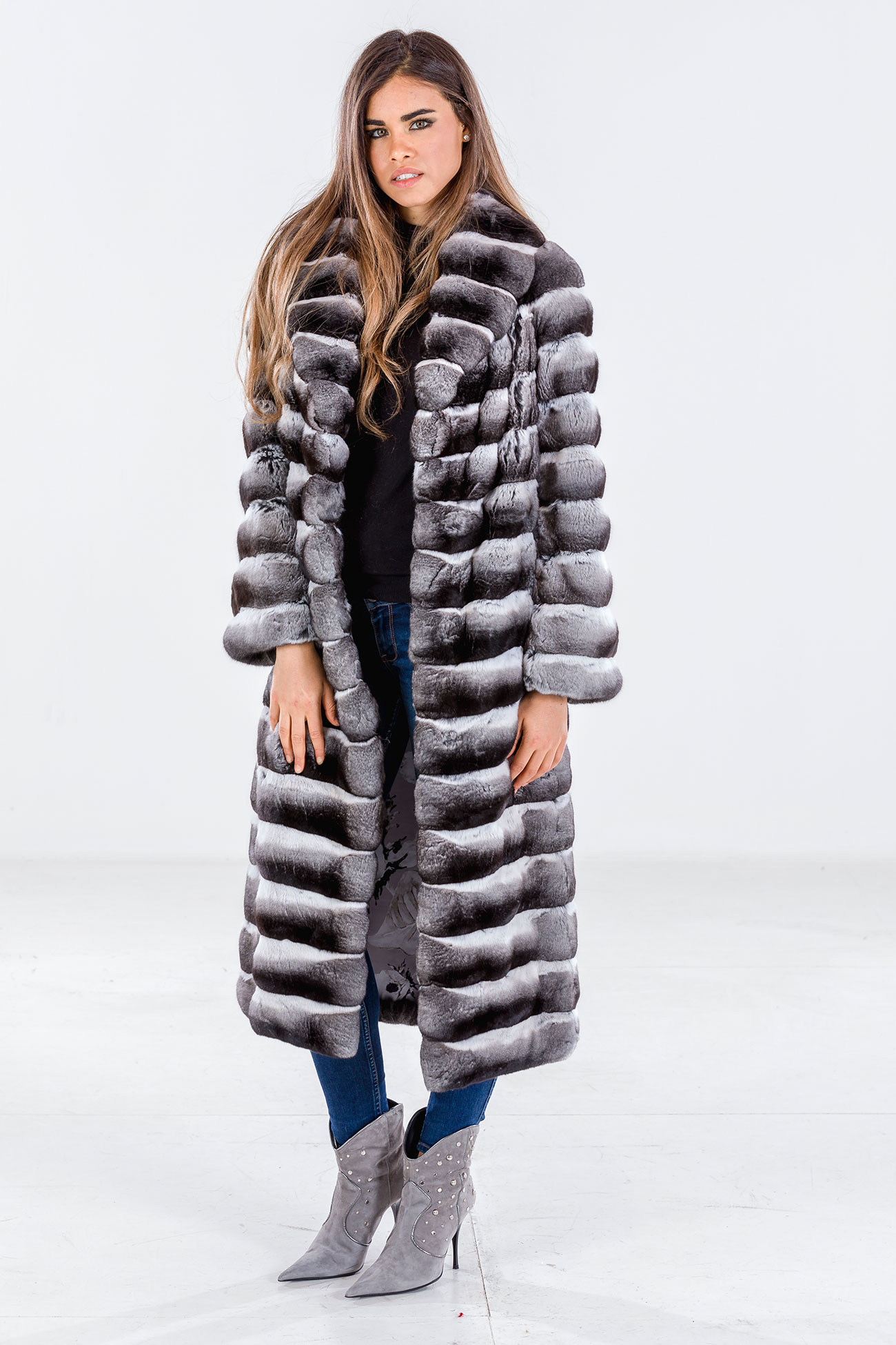 Cappotto chinchilla