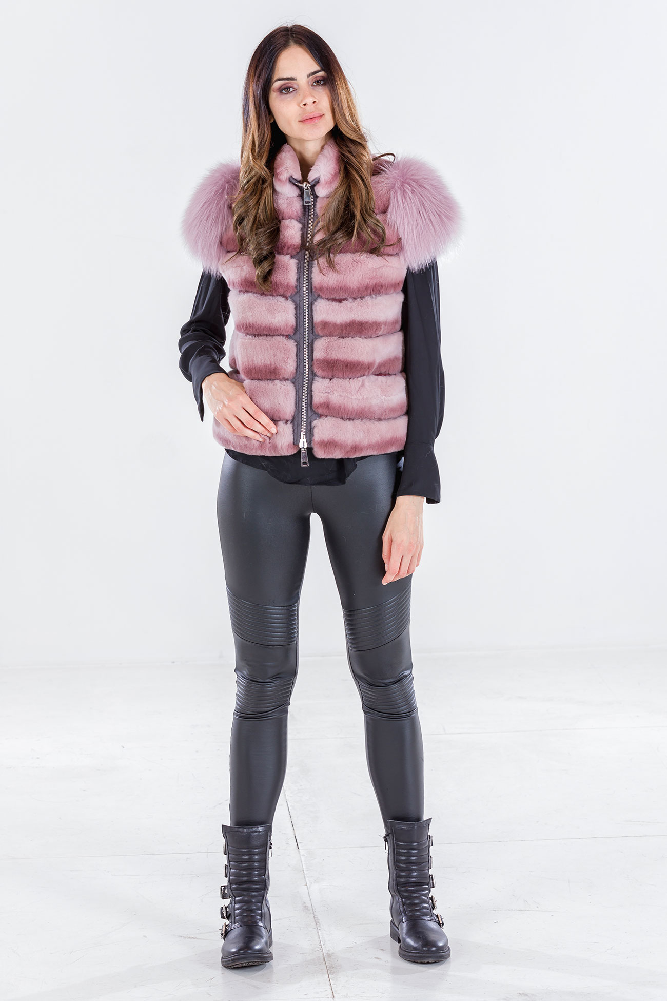 Rex and fox pink vest